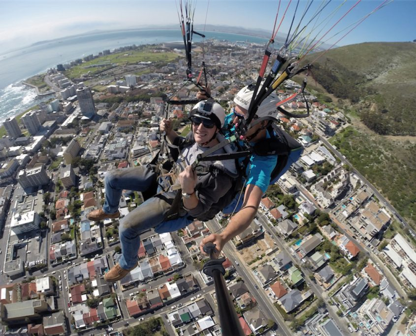 Paragliding in the Mother City