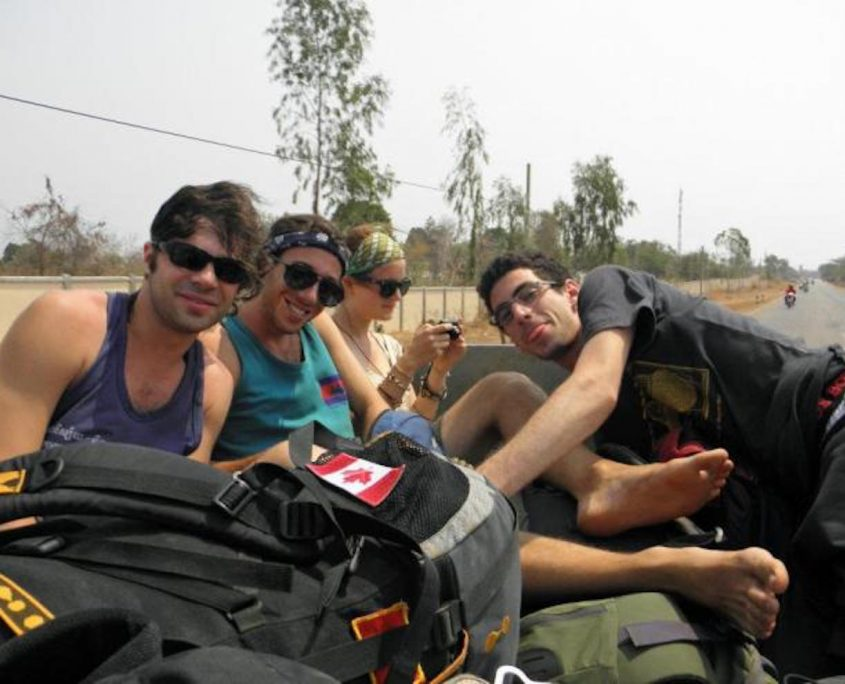 Hitchhiking Through Laos