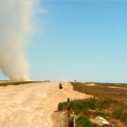 desert Kazakhstan, travel moment