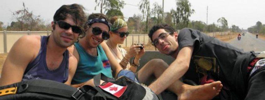 Hitchhiking Laos